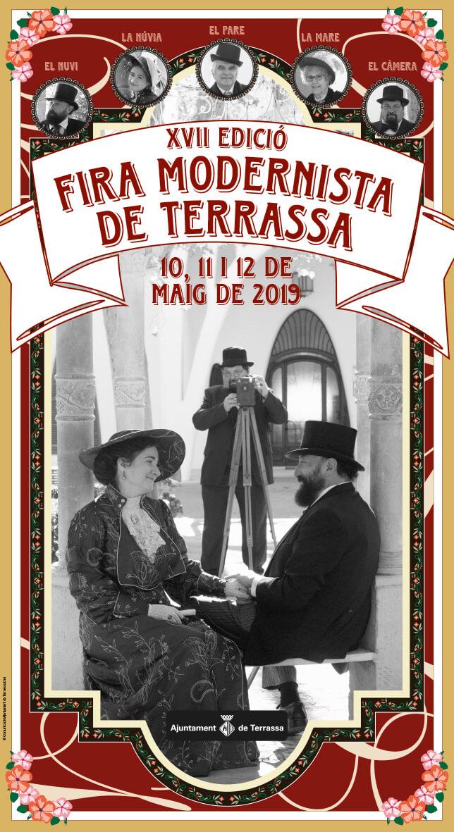 XVII EDICIÓN DE LA FERIA MODERNISTA DE TERRASSA 10, 11 y 12 de mayo de 2019 1