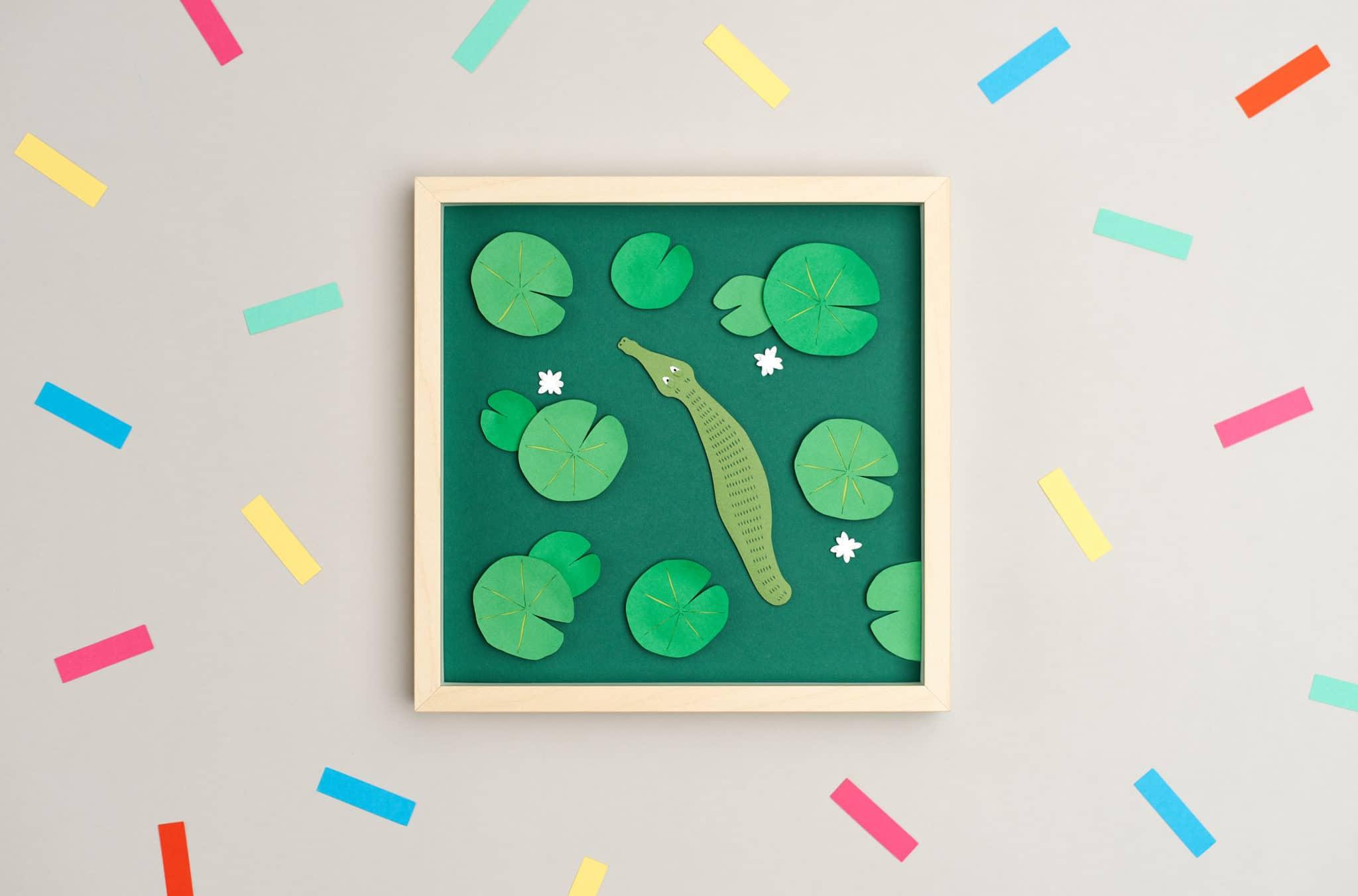 Papercut Paintings by Agueda Peña